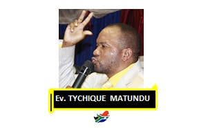 Pst. TYCHIQUE         MATUNDU  + 10 Years in Min.