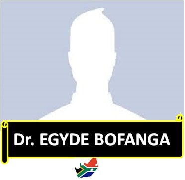 Dr. EGYDE BOFANGA      + 30 Years in Min.